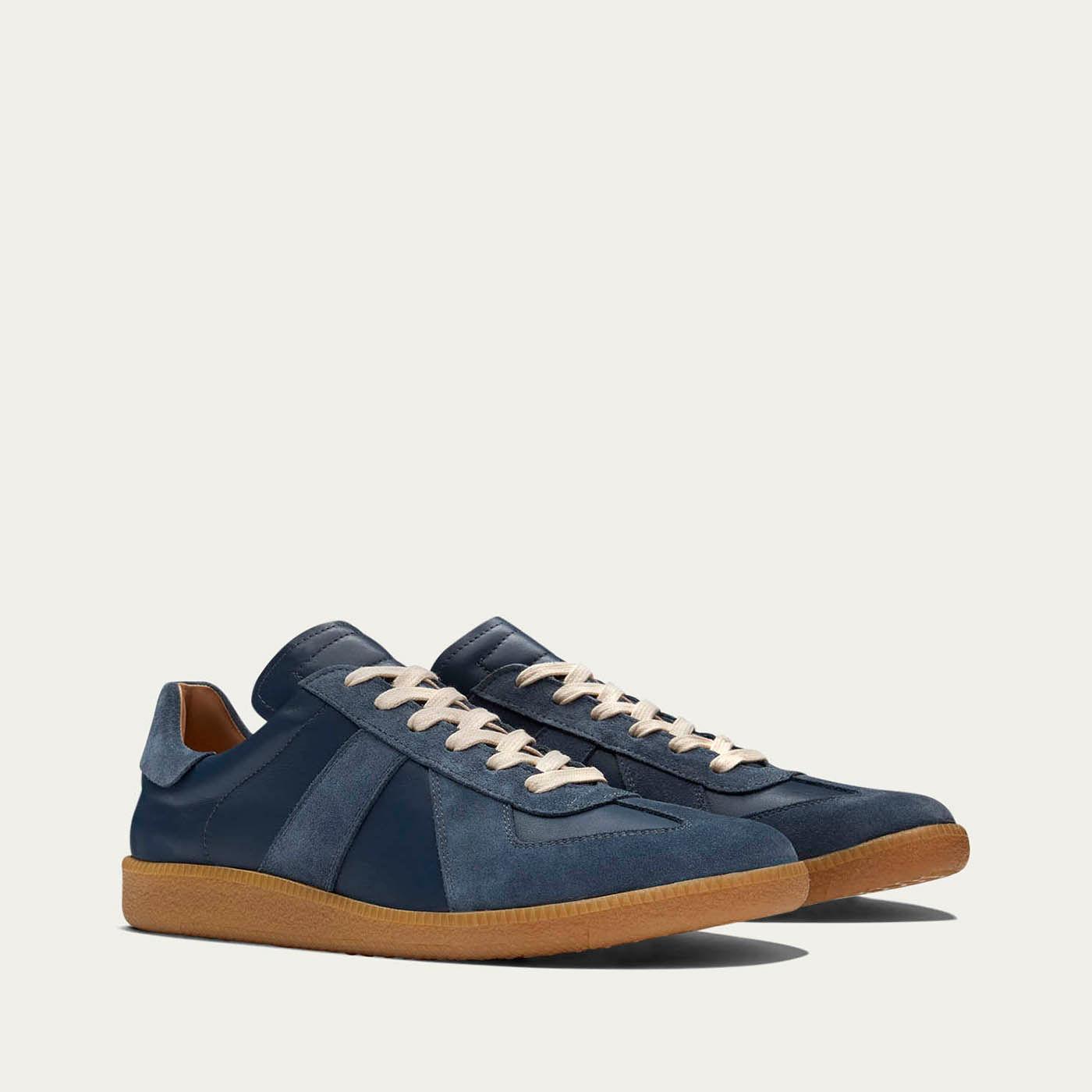 Navy Gat Sneakers | Bombinate