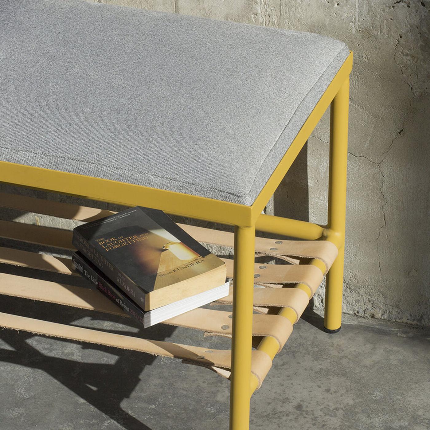 Gray/Yellow BDC Bench   Bombinate