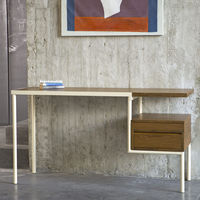 Teak/Cream KTAB Desk | Bombinate