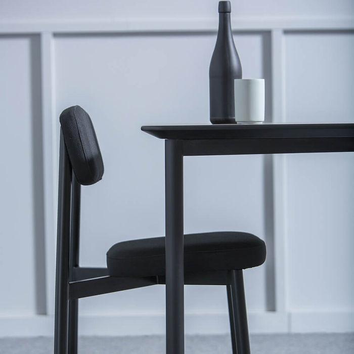 Black Residence Table   Bombinate