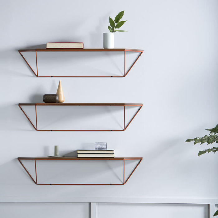 Brick Red Epure Shelf | Bombinate