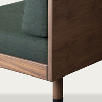 Green Bench Mid Canvas kvadrat Sofa | Bombinate