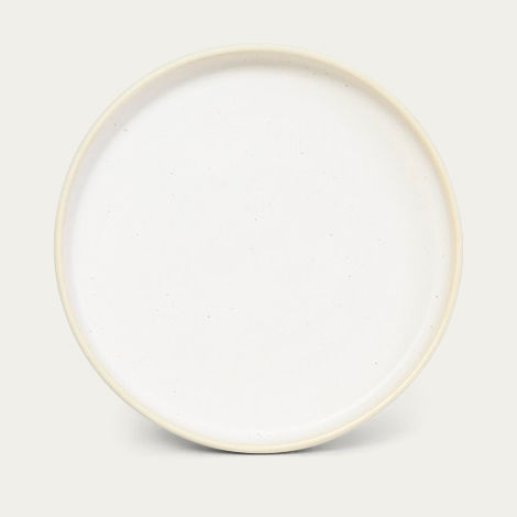Small Otto Plate White - Set of two | Bombinate