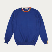 French Blue Concord Knitwear | Bombinate