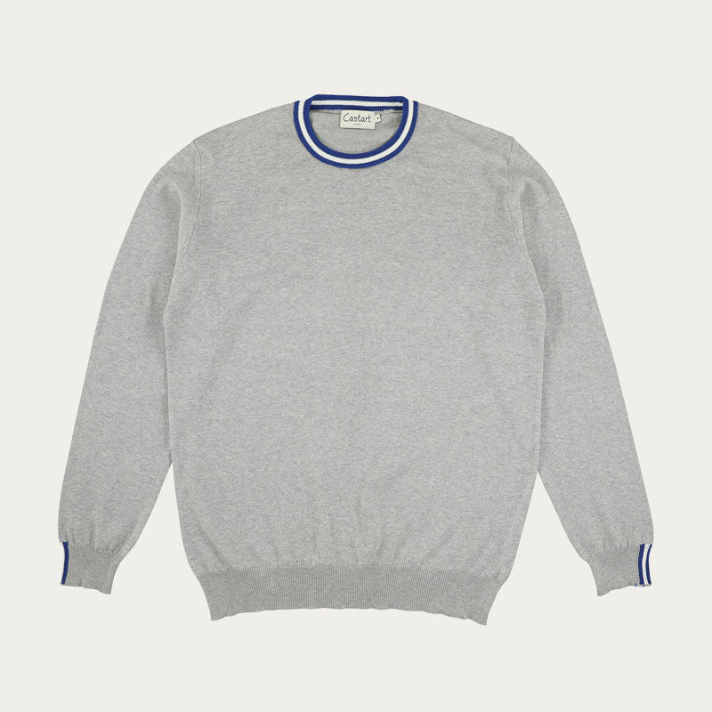 Middle Grey Concord Knitwear    | Bombinate