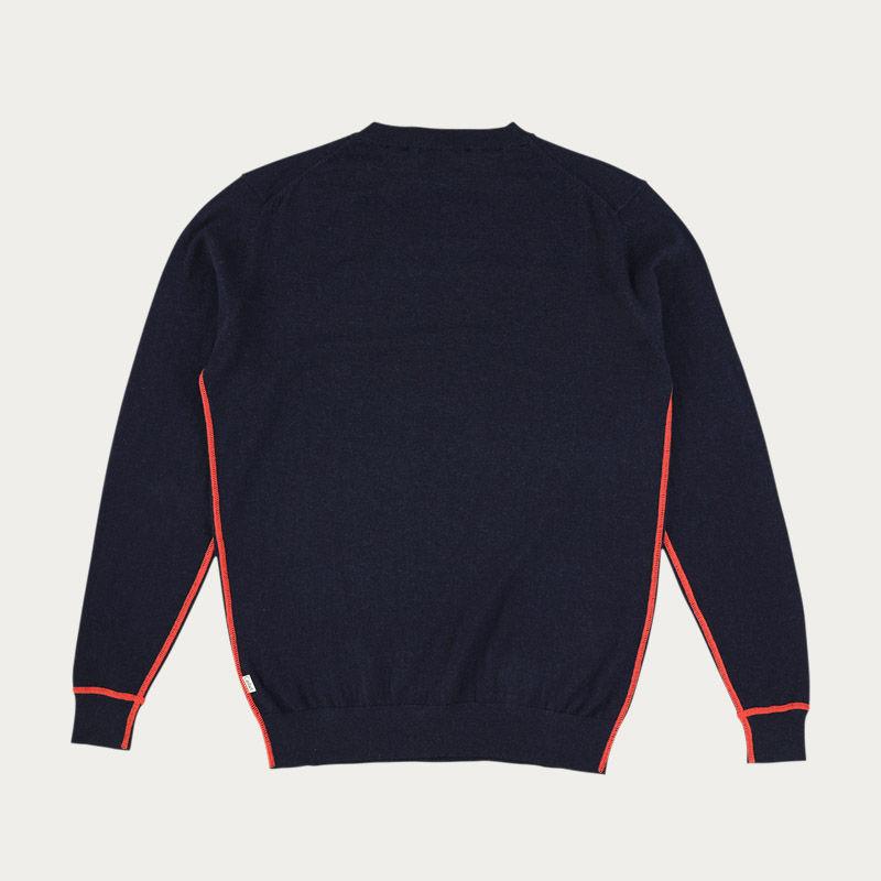 Navy Fordham Knitwear  | Bombinate