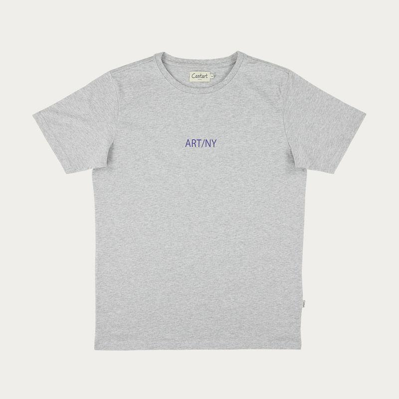 Grey Harlem T-shirt  | Bombinate