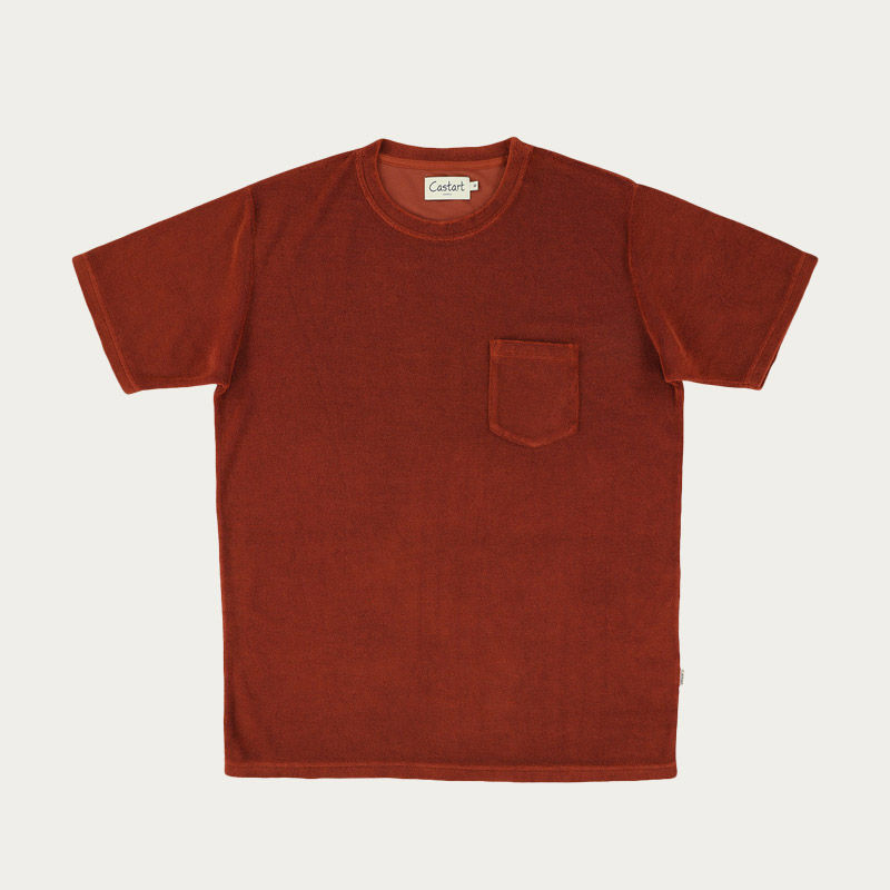 Rust Soho T-shirt  | Bombinate