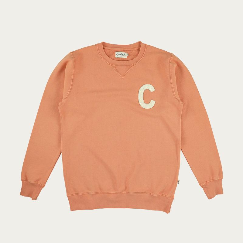 Orange Williamsburg Sweater  | Bombinate