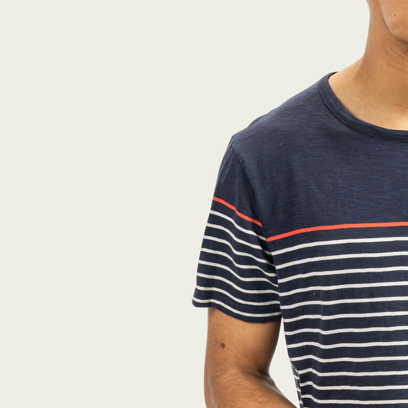 Navy Weeksville T-shirt | Bombinate