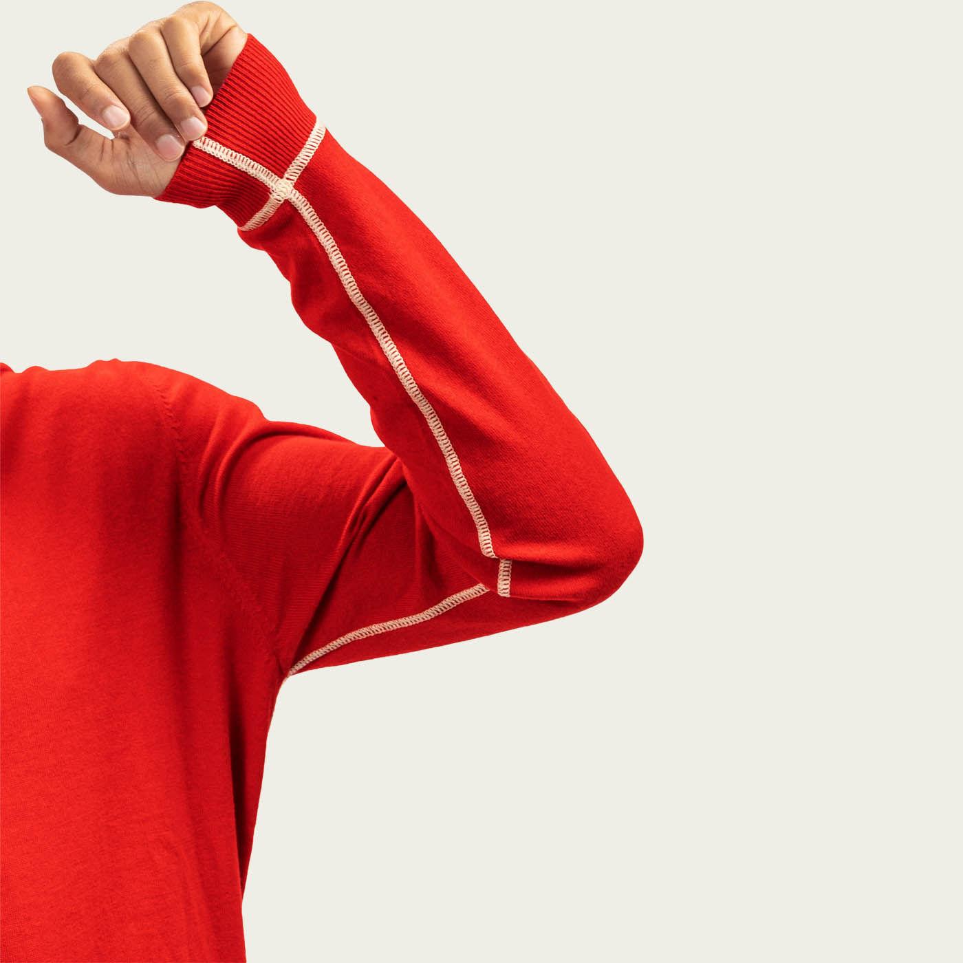 Red Fordham Knitwear  | Bombinate