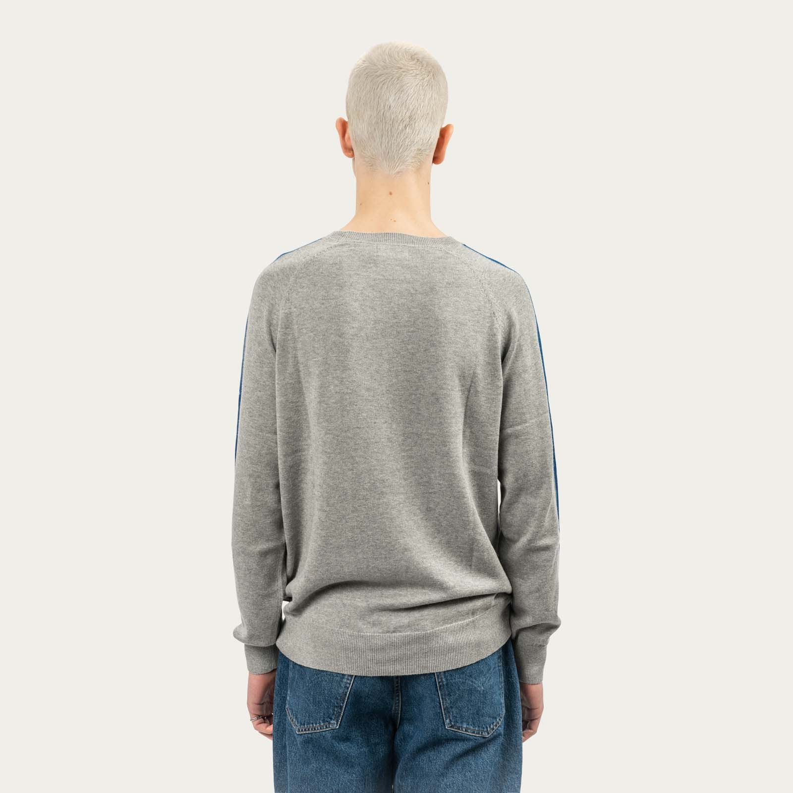 Middle Grey Concord Knitwear      Bombinate