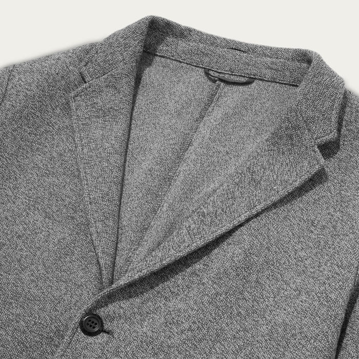 Dusk Grey Travel Blazer  | Bombinate