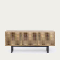 Oak Diamond Print Camden Sideboard | Bombinate