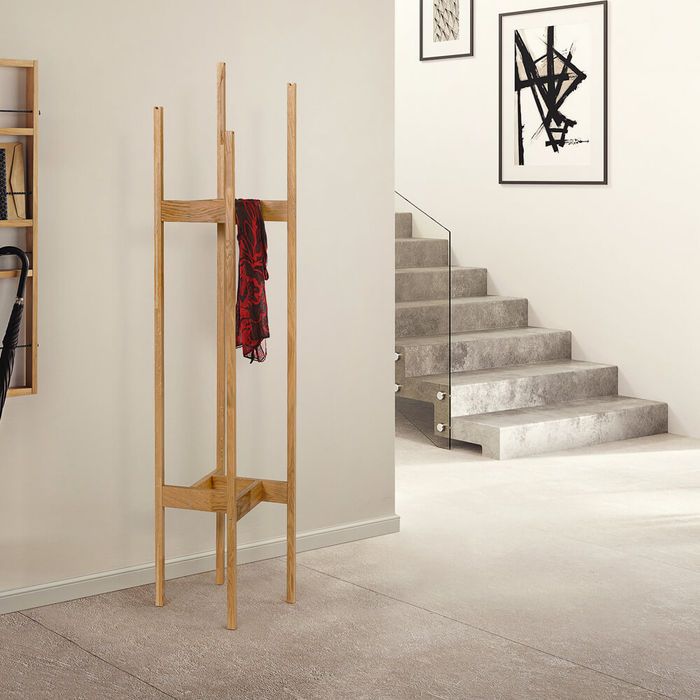 Oak Hilbert Coat Stand | Bombinate