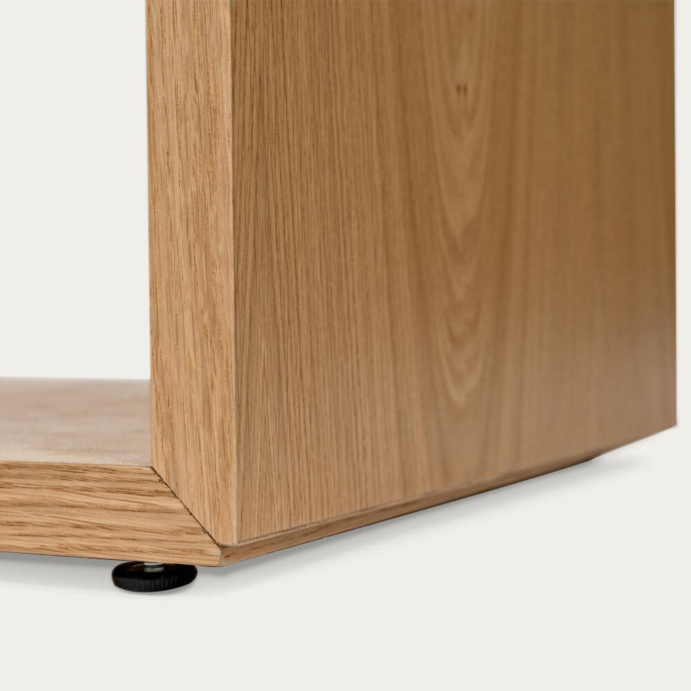 Oak/White Loma Desk | Bombinate