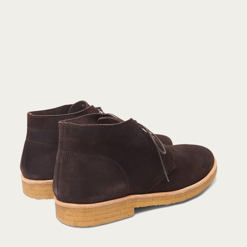 The Chocolate Chukka Boots  1