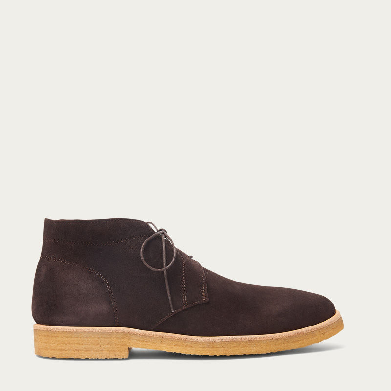The Chocolate Chukka Boots  0