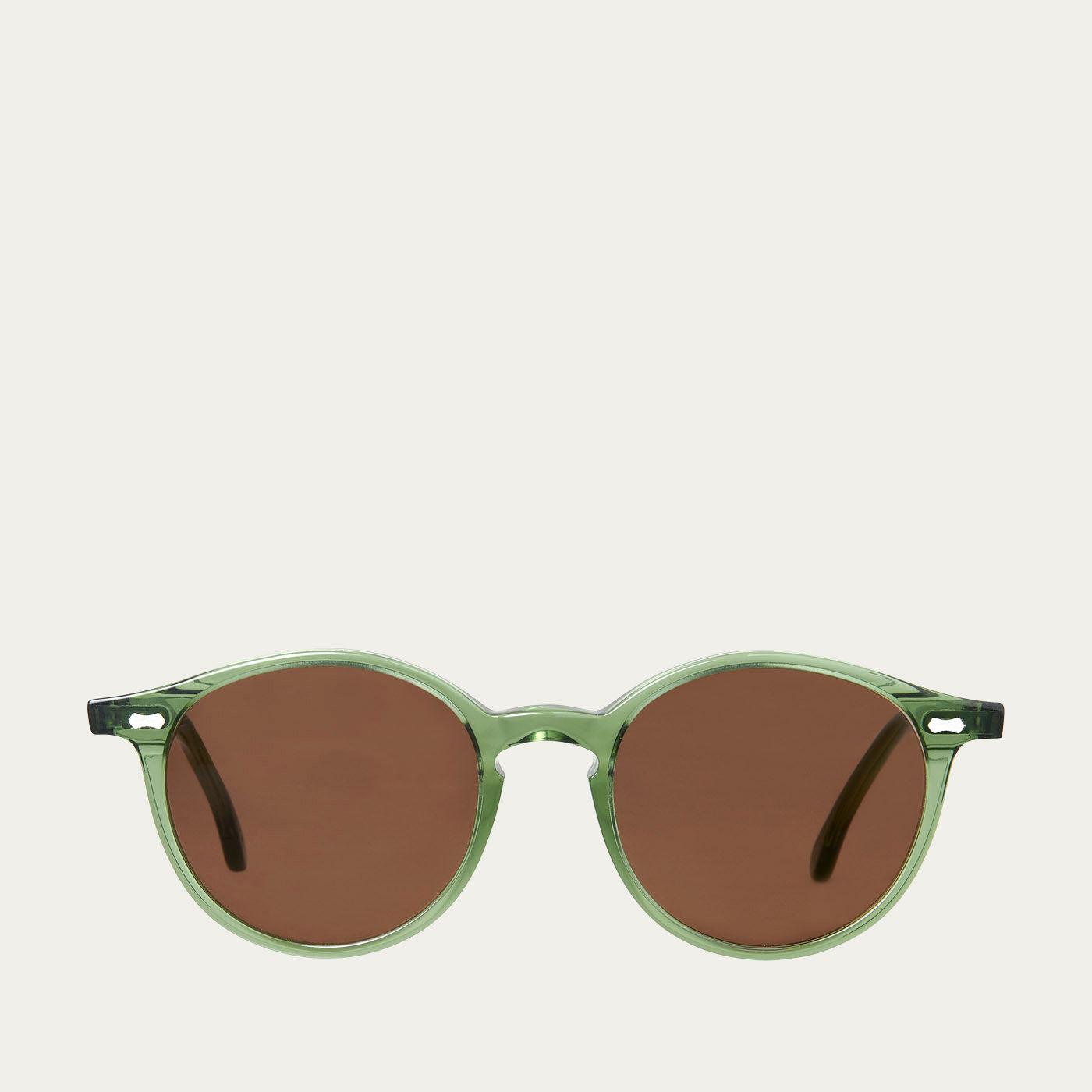 Green / Tobbacco Cran Sunglasses   Bombinate