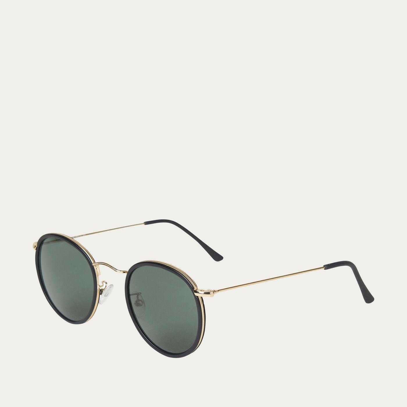 Black / Bottle Green Crossbreed Sunglasses | Bombinate
