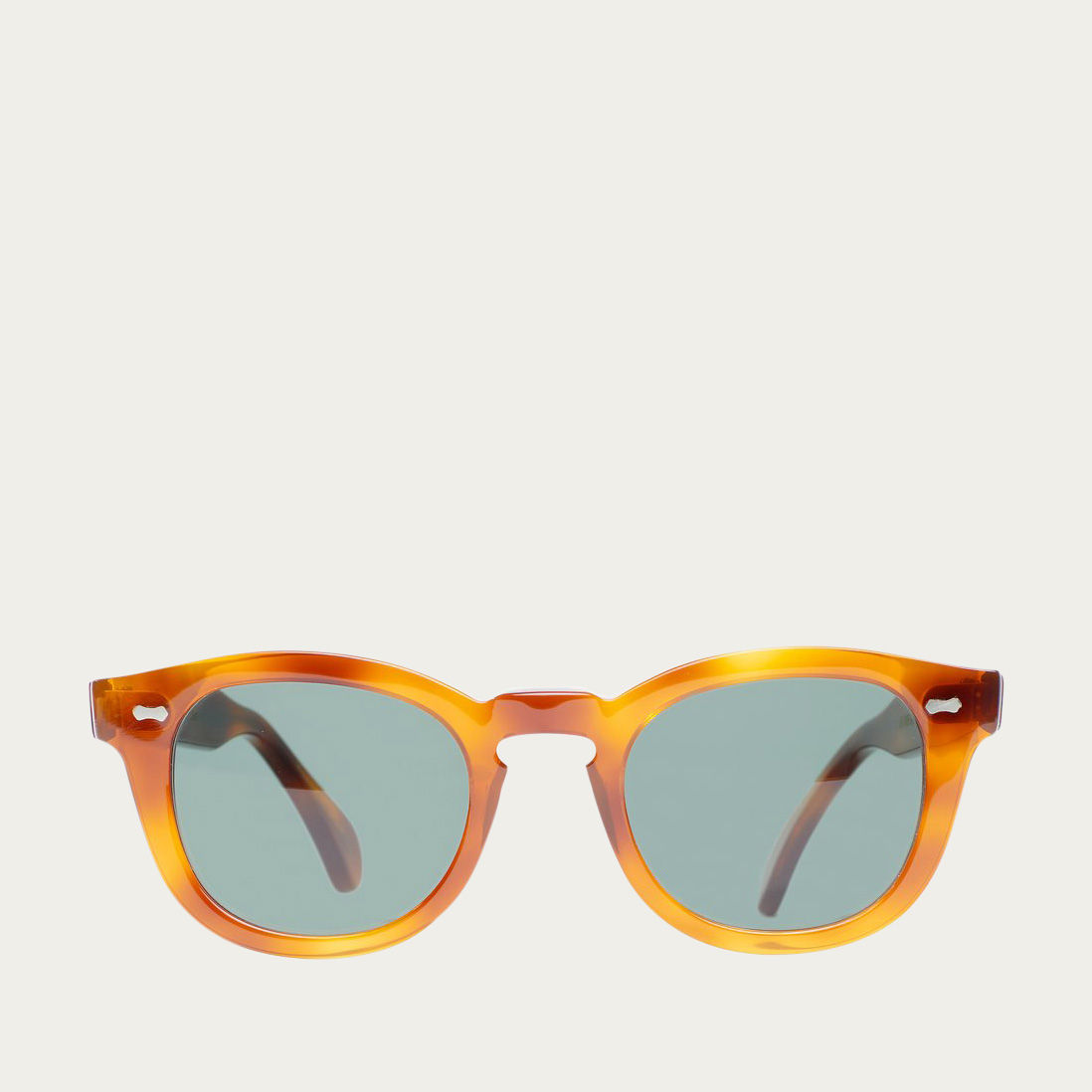 Classic Tortoise / Bottle Green Donegal Sunglasses | Bombinate