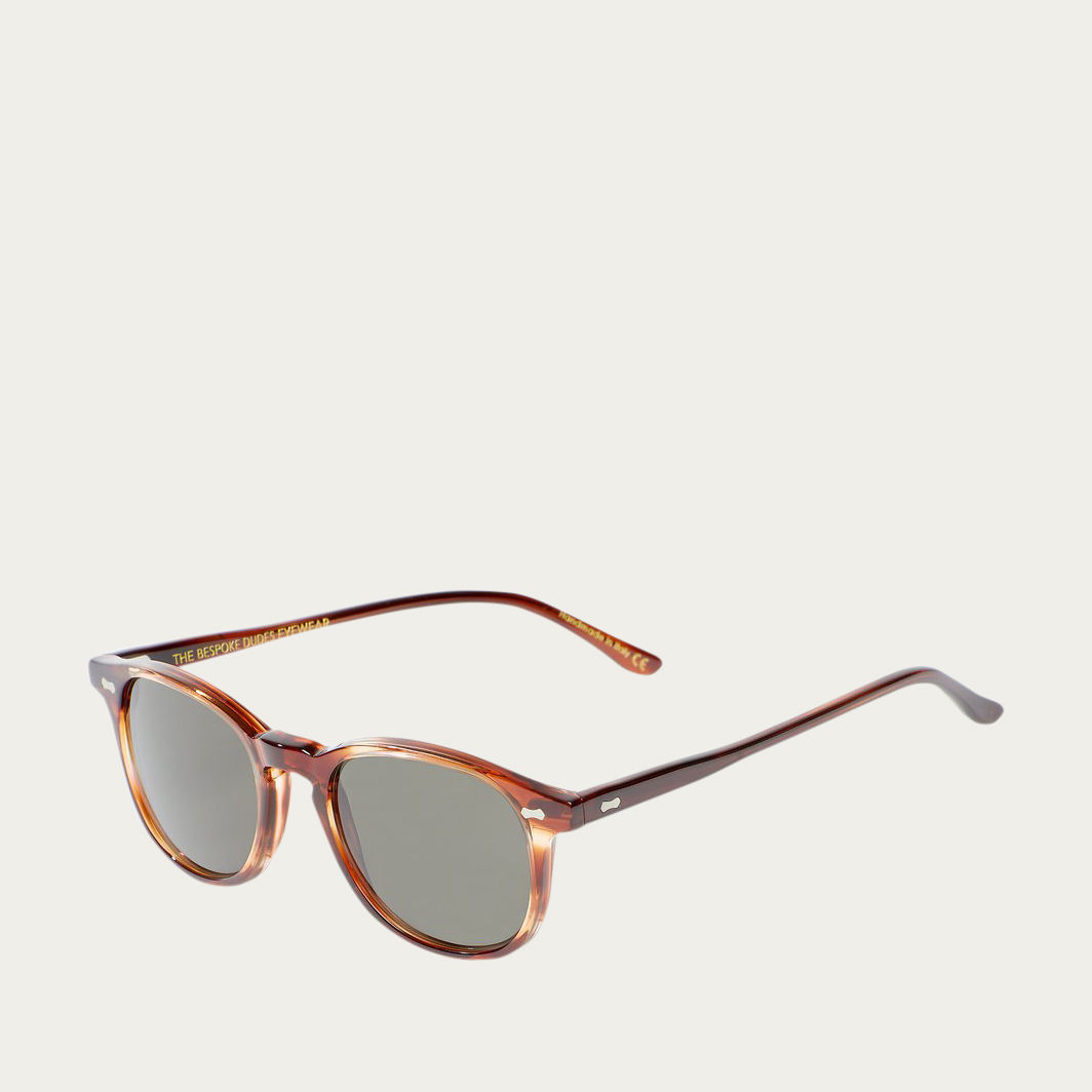Havana // Bottle Green Shetland Sunglasses | Bombinate