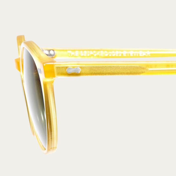 Honey / Bottle Green Cran Sunglasses | Bombinate