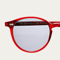 Burgundy / Gradient Grey NGA Cran Sunglasses | Bombinate