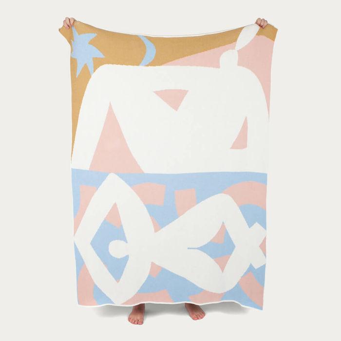 Redding Knit Blanket   Bombinate