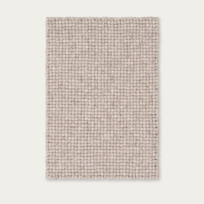 Felt Ball Rug Béla Square | Bombinate