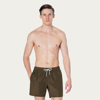 Military Green Logan Swim Short | Bombinate