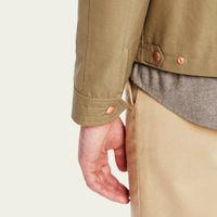 Sage The Ventile Harrington Jacket | Bombinate