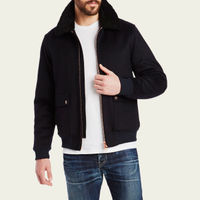 Navy Flight Jacket  2