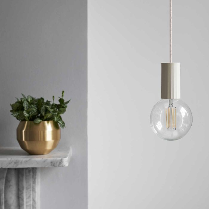 Natural Case Pendant Clear Bulb  | Bombinate