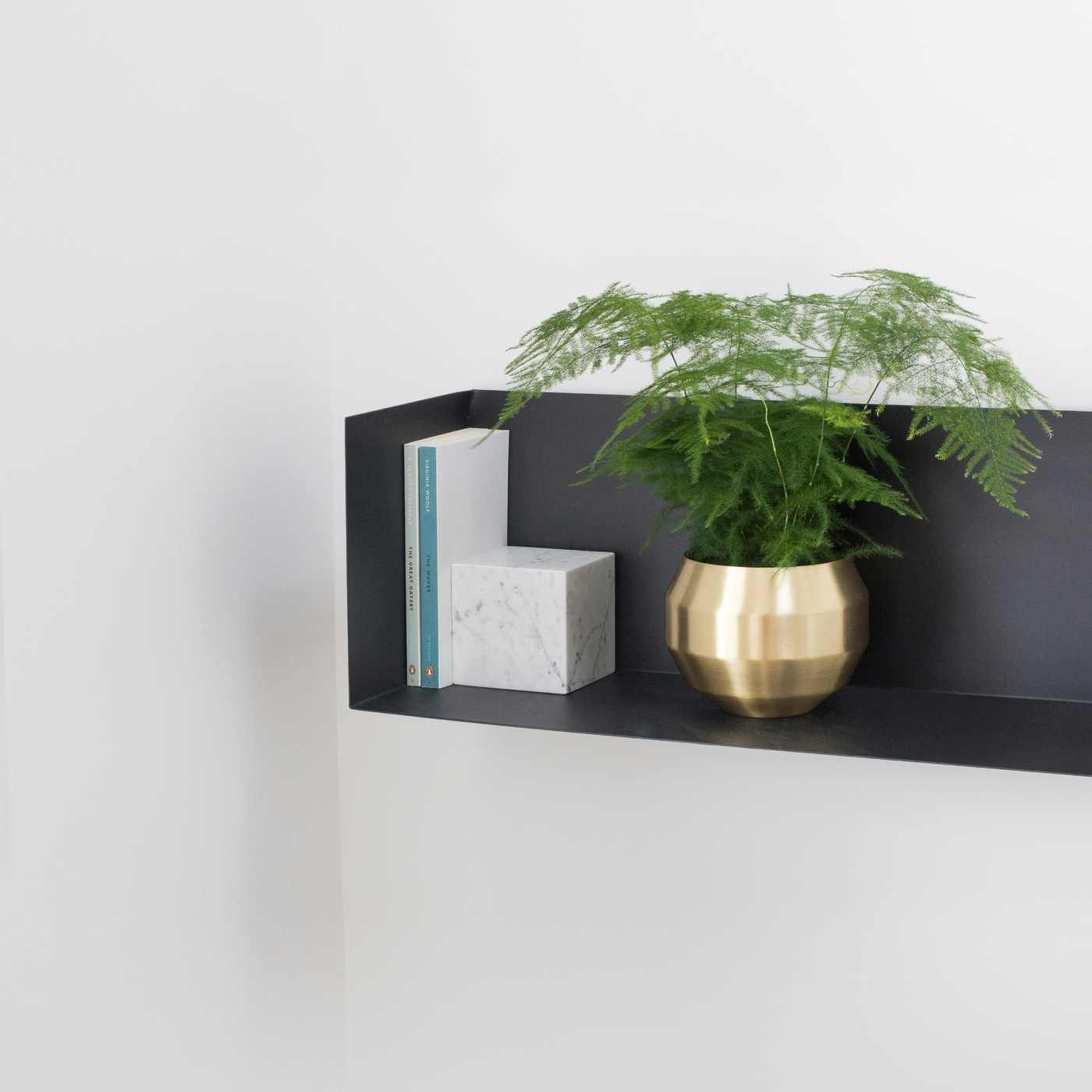 Brass Pitch Planter  | Bombinate