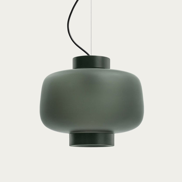 Matte Anthracite Dusk Lamp Large | Bombinate