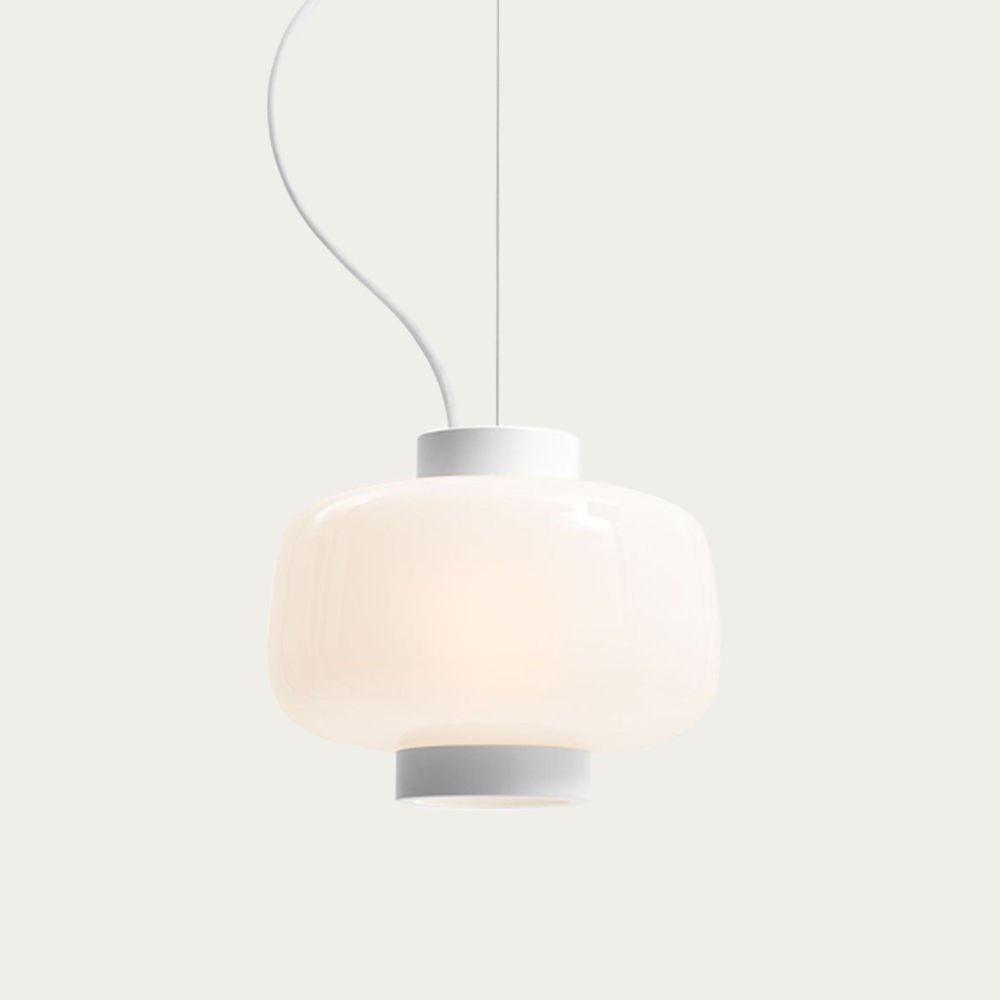 Ivory Dusk Lamp Small | Bombinate