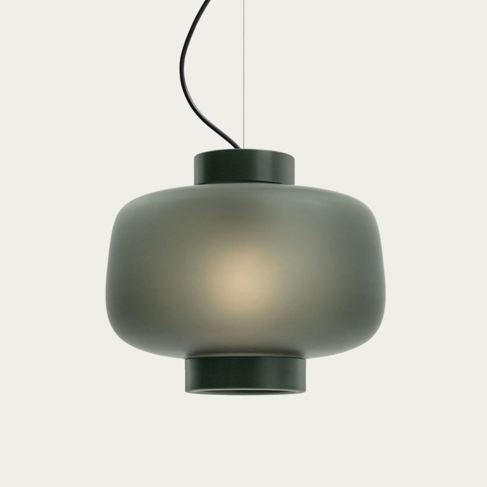 Matte Anthracite Dusk Lamp Large | Bombinate