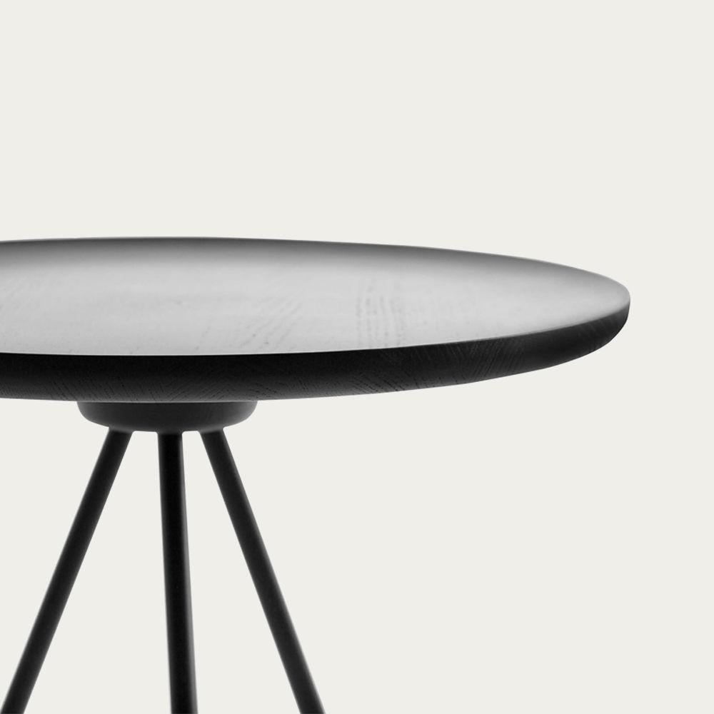 Black Key Side Table | Bombinate