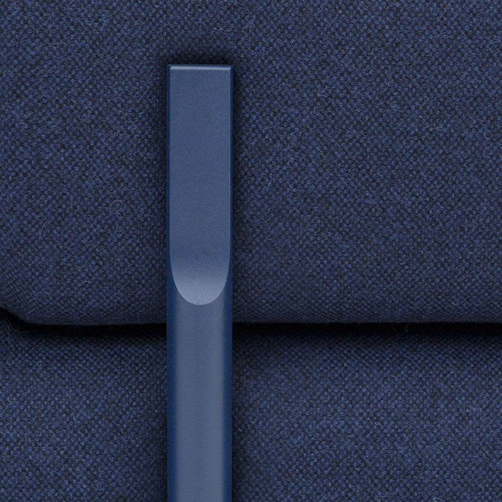 Dark Blue Palo Modular 2-Seater Sofa + Armrest | Bombinate