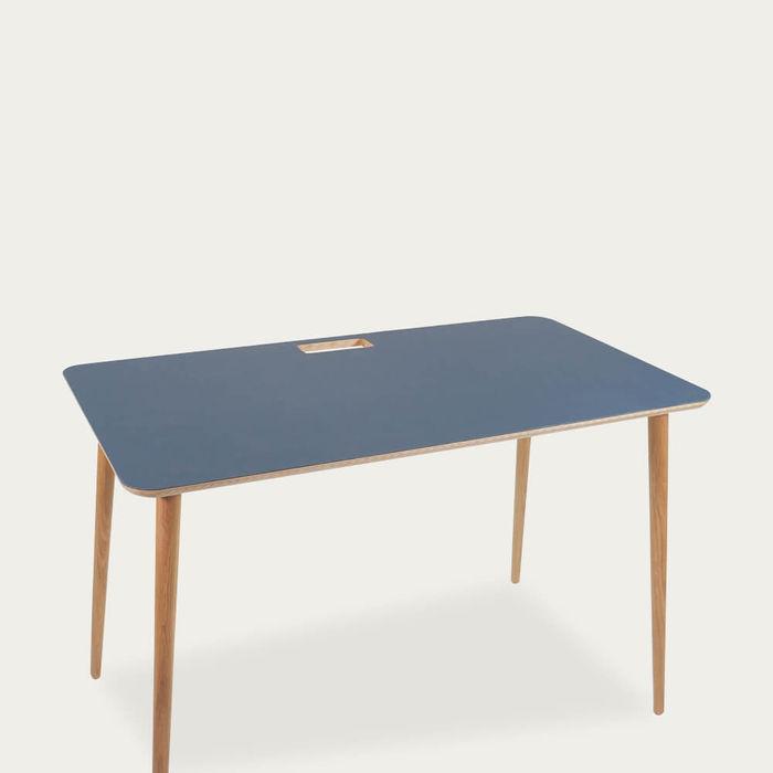 Smokey Blue Desk | Bombinate