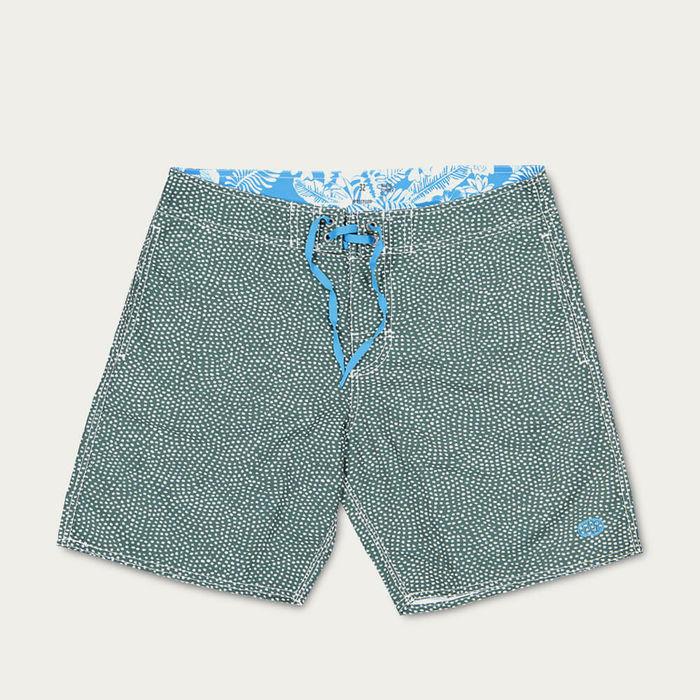 Green Goloritze Beach Shorts | Bombinate