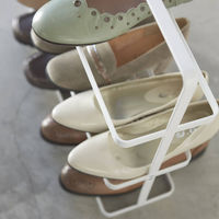 White Tower 5-Tier Slim Portable Shoe Rack | Bombinate