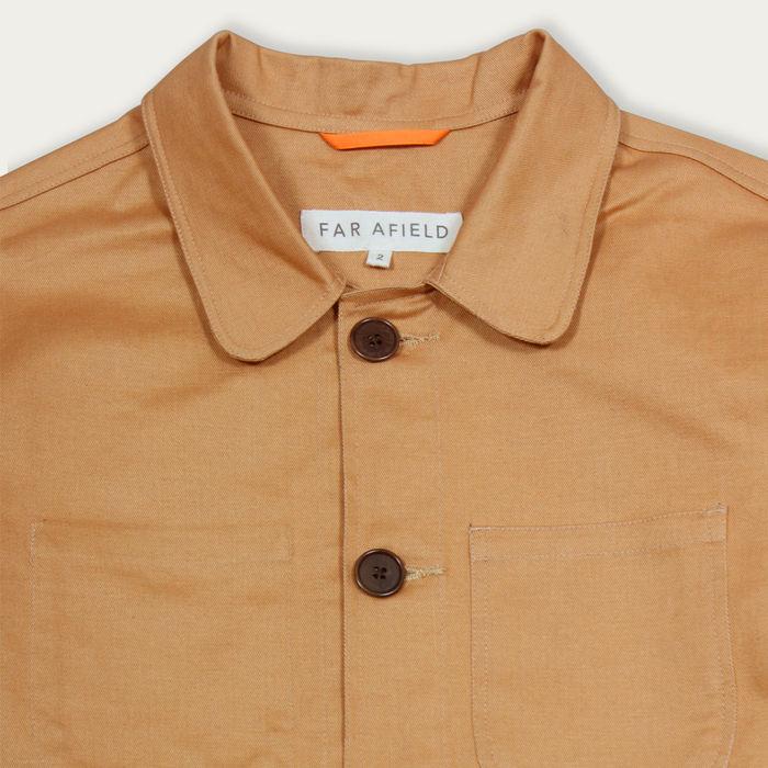 Cashew Cotton Twill Station Jacket  | Bombinate