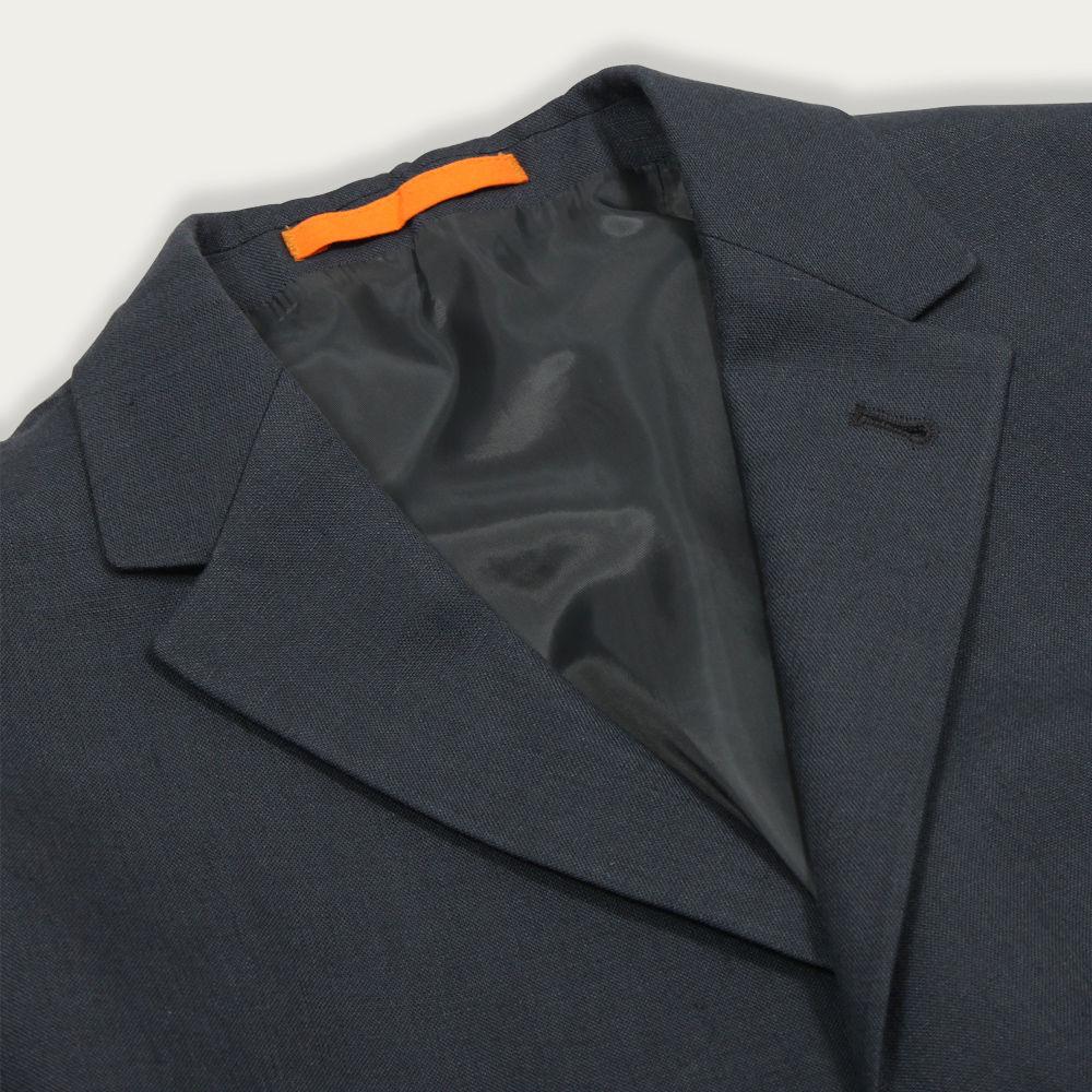 Linen Grey Carter Jacket  | Bombinate