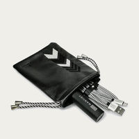 Black Gaucho TechPACK: Mobile Phone Accessories Kit + Power Bank | Bombinate
