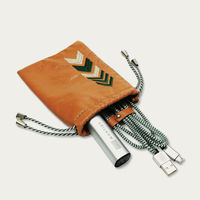 Tan Gaucho TechPACK: Mobile Phone Accessories Kit + Power Bank | Bombinate