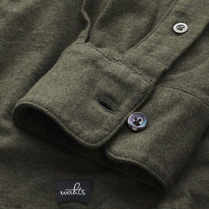 Deep Green Norton Tailored Jersey Poloshirt | Bombinate