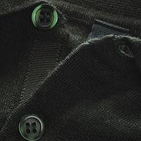 Deep Green Ward Extrafine Merino Poloshirt | Bombinate