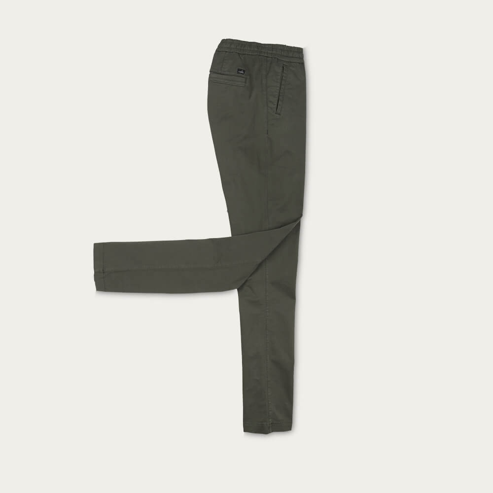 Deep Green Porter Comfort Chino | Bombinate